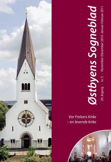 Østbyens Sogneblad - Vor Frelsers Kirke, Vejle