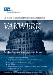 nummer 6, december 2009 - Beter Onderwijs Nederland