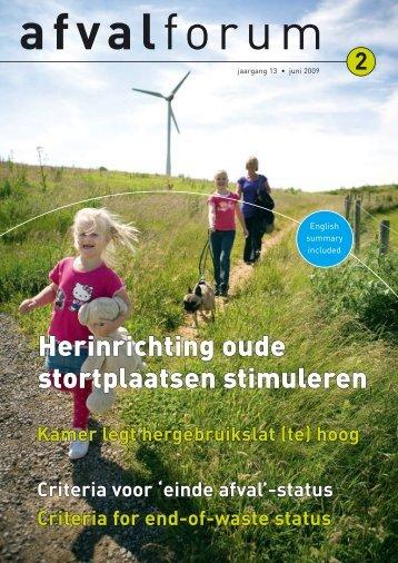 Herinrichting oude stortplaatsen stimuleren - Vereniging ...