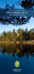 PROGRAM 2012 - Tyresta nationalpark och naturreservat