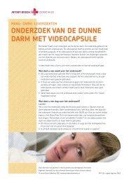 OnderzOek van de dunne darm met videOcapsule - Jeroen Bosch ...