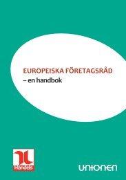 EuropEiska förEtagsråd – en handbok - YS