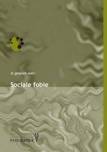 Sociale fobie - Nederlandse Vereniging voor Psychiatrie