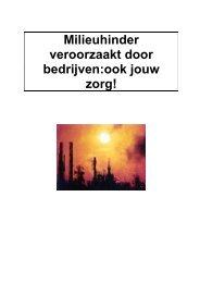 Milieuhinder veroorzaakt door bedrijven : ook jouw zorg ! - ACLVB ...