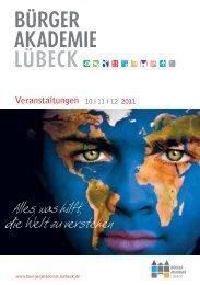 Veranstaltungen 10 - Hansestadt LÜBECK