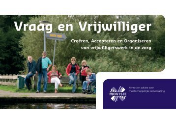 Vraag en Vrijwilliger - Vrijwilligerswerk.nl