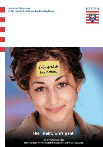 Informationen zum Berufsstart - Hessen