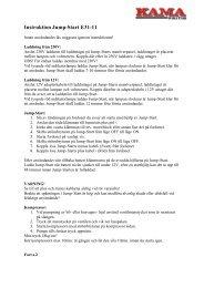 E31-11 Instruktion Jump-Starter.pdf - KAMA Fritid