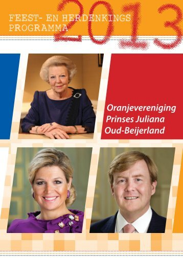 Programmaboekje zonder advertenties - Oranjevereniging Prinses ...
