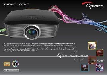 Optoma HD86 - 1080p-Beamer