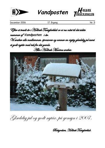 Vandposten december 2006.pdf - Holbæk Tursejlerklub
