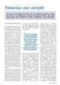 Läs numret - Befälsföreningen Militärtolkar - Page 6