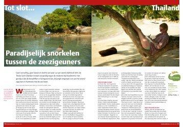 Snorkelen op de Surin eilanden