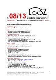 Nr. 08/13Digitale Nieuwsbrief - Bakkerij Heerschap