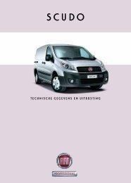 Technische gegevens en uiTrusTing - Fiat Professional