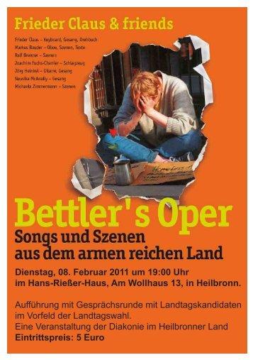 Dienstag, 08. Februar 2011 um 19:00 Uhr im Hans ... - Aufbaugilde