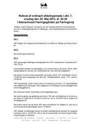 Referat af ordinært afdelingsmøde i afd. 7, onsdag den 29. Maj 2013 ...