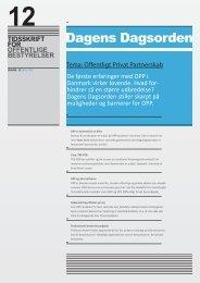 OPP - Dagens Dagsorden - Forum for Offentlige Bestyrelser