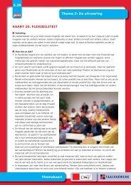 KAART 20. FLEXIBILITEIT 5.20 Themakaart Thema 5 ... - Taalwerkt.nl