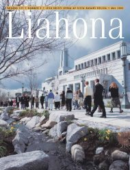 Maj 2003 Liahona