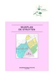 WIJKPLAN DE STRUYTEN - Welkom bij gemeente Hellevoetsluis