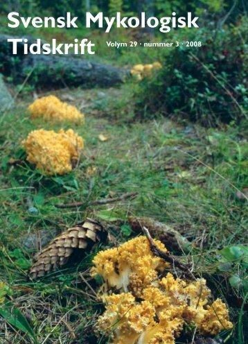 SMT 3-2008 - Sveriges Mykologiska Förening