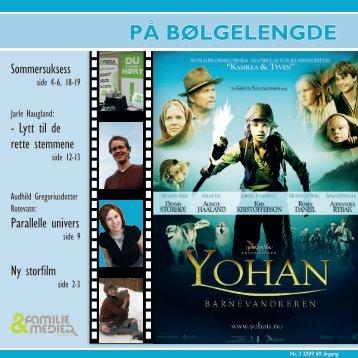 På Bølgelengde 03/2009 - Familie & Medier