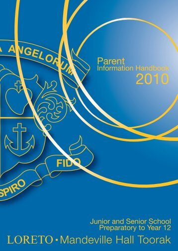 parent information handbook - Loreto Mandeville Hall