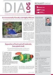 DIALOG Issue 09/2010 (pdf-File) - Rehart GmbH