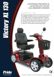 Victory®XL 130 - Pride Mobility Products