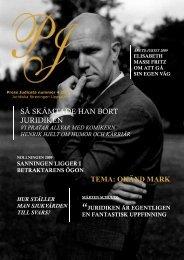 Press Judicata nr 4 2009 - Juridiska Föreningen i Uppsala