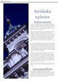 Press Judicata nr 4 2009 - Juridiska Föreningen i Uppsala - Page 6