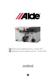 Marine - Alde International UK Ltd