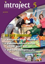 Klik hier om Intraject 5 te downloaden (pdf). - Trajectum