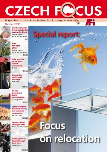 Czech Focus 2/2009 - Sdružení pro zahraniční investice