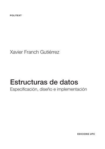 Estructuras de datos - Instituto de Cálculo Aplicado