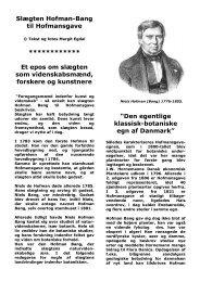 Slægten Hofman-Bang til Hofmansgave - Nordfynsk.dk