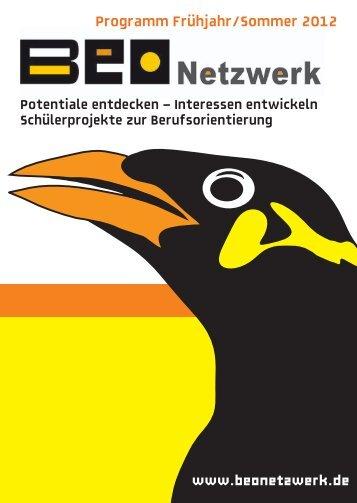 Programm Frühjahr/Sommer 2012 - Beonetzwerk
