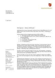 4.4.2011. Høringssvar til Natura 2000 plan - Guldborgsund Kommune