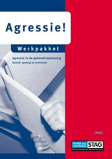 Werkpakket Agressie! internetversie - Profijt van Arbobeleid