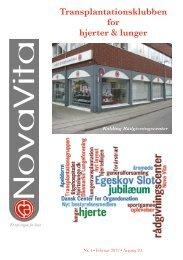 Nova Vita 2012-1 - Hjerte- og Lungetransplantationsklubben