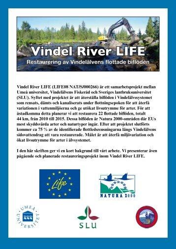 Vindel River LIFE
