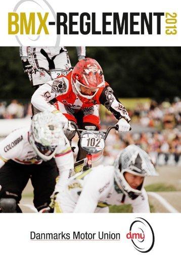 Reglement 2013 (PDF) - Om Varde BMX klub