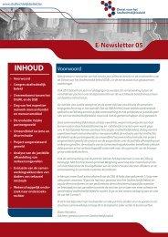 eNewsletter 05 (NL) - Dienst voor het Strafrechtelijk beleid