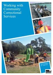 Working with Community Correctional Services - Careers in ...