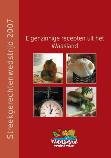 Kookboekje enkelz A5 - Toerisme Oost-Vlaanderen
