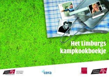 Het Limburgs kampkookboekje - Op kamp