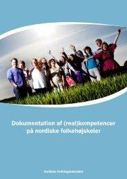 Dokumentation af (real)kompetencer på nordiske ... - FFD.dk