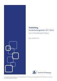 Toelichting loonbelastingpakket 2011/2012 voor ... - CATC