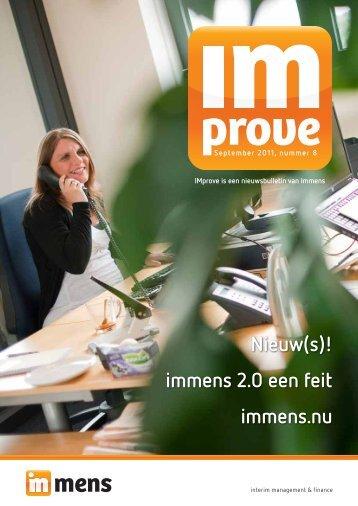Nieuw(s)! - Immens Interim Management & Finance